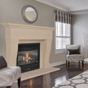 Bath Stone Limestone Fireplace, mantel shelf, hearth, in neutral tones living room Stone Fireplaces, Hand carved fireplaces, bespoke fireplace, Period fireplace, French fireplace, Sandridge Stone Fireplaces, Limestone, Bath Stone, Portland Limestone, Melksham, Wiltshire